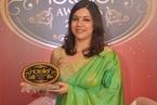 Nisha Dhage from The Taj Mahal Palace & Taj Mahal Tower Mumbai walks away with PR Person of the Year
