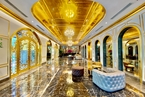 World's first gold-plated hotel opens in Vietnam's capital Hanoi