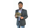 Rahul George wins 'Marketing Person of the Year' award