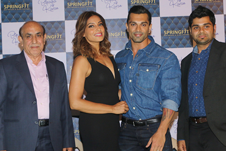 Actor Bipasha Basu recommends sound nightly sleep to springfit in the morning