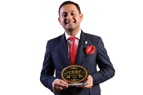 Ashish Sharma- Winner: Hotelier India Awards 2018, Front Office Manager of the Year, Luxury to Upper Upscale