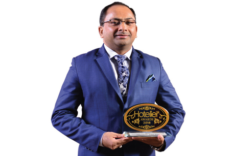 Brajesh Chauhan- Winner: Hotelier India Awards 2018, Housekeeper of the Year, Luxury to Upper Upscale
