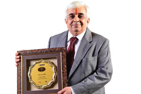 Vijay Thacker- Hotelier India Awards 2018, Hall of Fame