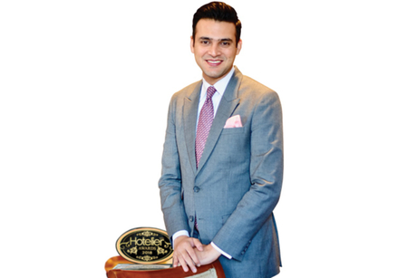 Pratik Vashisht- Winner: Hotelier India Awards 2018, Front Office Manager of the Year, Luxury to Upper Upscale