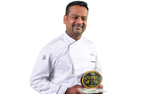 A Rupeswara Rao- Winner: Hotelier India Awards 2018, Chef of the year, Economy to Budget