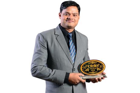 Sunil Jinger- Winner: Hotelier India Awards 2018, Housekeeper of the Year, Economy to Budget