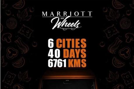Marriott on Wheels makes its presence felt in India