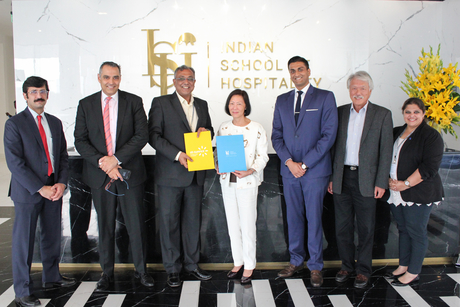 Indian School of Hospitality (ISH) signs an agreement with At-Sunrice GlobalChef Academy