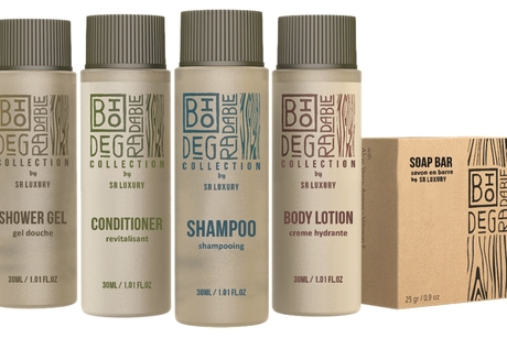 SR Luxury launches eco-friendly biodegradable bottle amenities for hotels