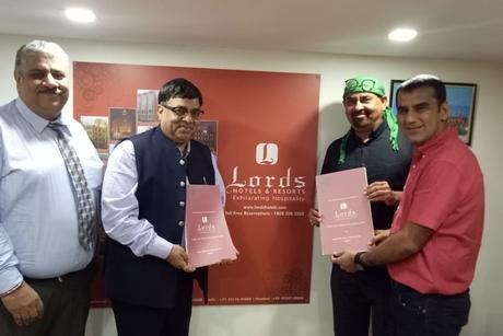 Lords Hotels and Resorts & Aarya Raj Club and Resort join hands to launch Lords Aarya Club & Resort at Rajkot