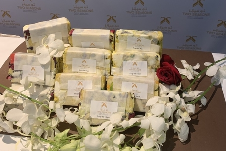 Soap for Hope: Two Seasons Hotel recycled 1.5 tons of used soap