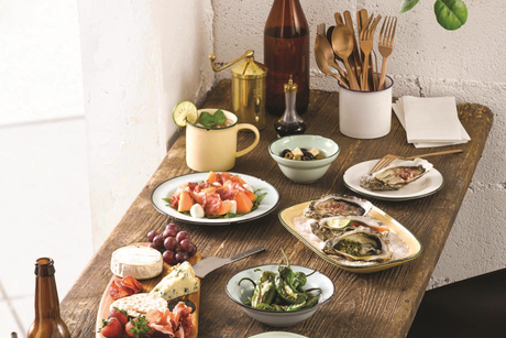 AH International launch Luzerne- Singapore's Tin-Tin tableware collection