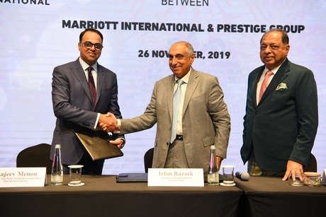Prestige Group signs a six hotel deal with Marriott International