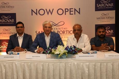 Sarovar expands in Bengaluru with Shravanthi Sarovar Portico