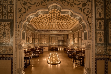JW Marriott Jaipur Resort & Spa's  Mohan Mahal nominated in Top 52 Restaurants and Bars