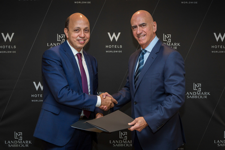 Marriott International inks pact with Landmark Sabbour for the upcoming W Hotel in Cairo