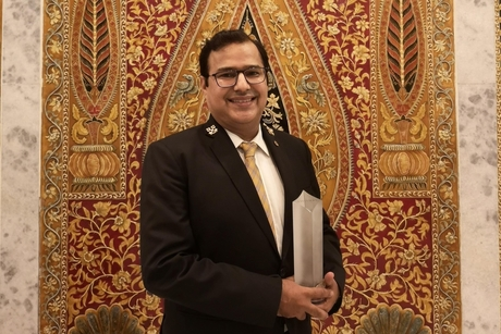 Lakshay Nirula of Taj Mahal New Delhi bags the Stelliers South Asia Award for Concierge Hotelier of the Year