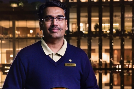 Raghuveer Singh engineered The Oberoi Gurgaon to perfection at the Hotelier India Awards