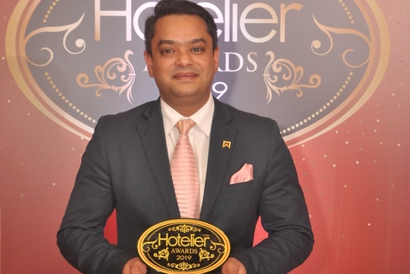 Rajat Singh sccops up revenue win for ITC Grand Chola at Hotelier India Awards