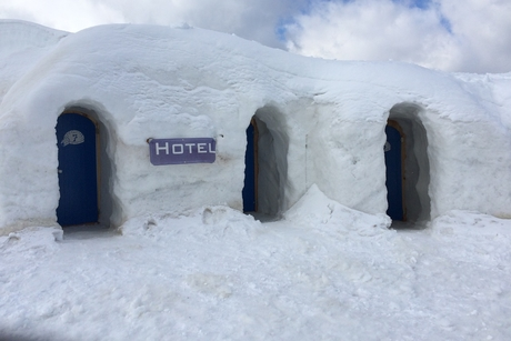 Igloo accommodation is the new attraction for Manali tourists
