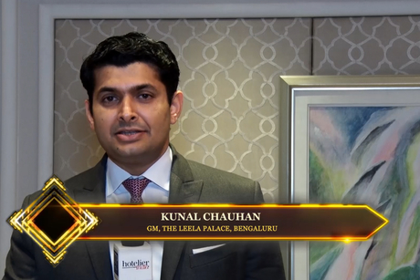 Hotelier India catches up with Kunal Chauhan, GM, The Leela Palace, Bengaluru at the Hotelier India Awards