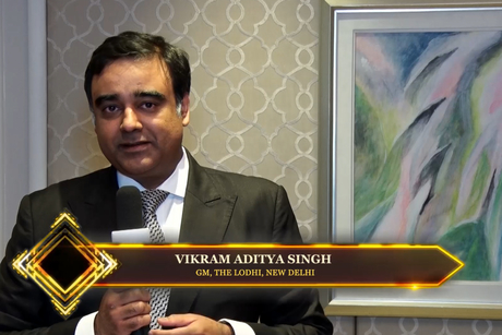 Hotelier India catches up with Vikram Aditya Singh, GM, The Lodhi, New Delhi at the Hotelier India Awards