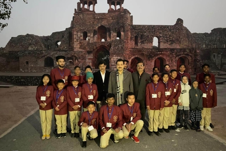 Indian Tourism Development Corporation salutes the little bravehearts of India