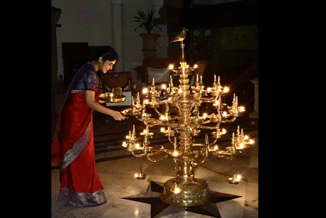 IHCL lighted diyas of hope across all its hotels to express solidarity towards frontline workers battling Coronavirus