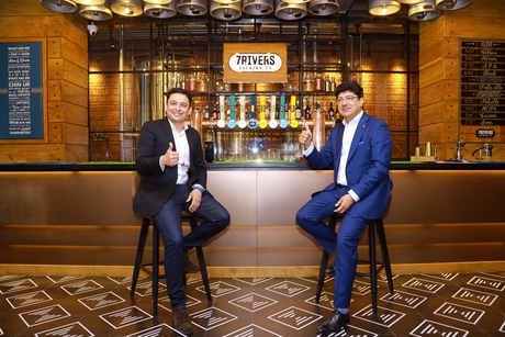 IHCL & AB INBEV announces the opening of India's first 7Rivers Brewpub at Taj MG Road, Bengaluru