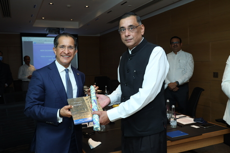 The Oberoi Group signs an MoU with EESL to augment its sustainability initiatives