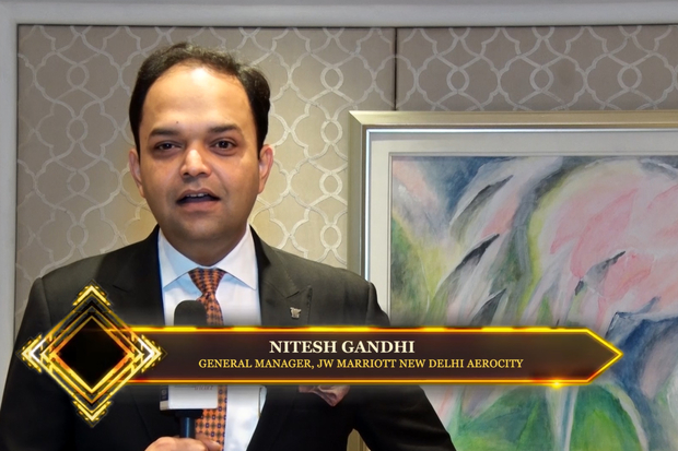 Hotelier India Awards 2019  Behind the Scenes with GM Nitesh Gandhi