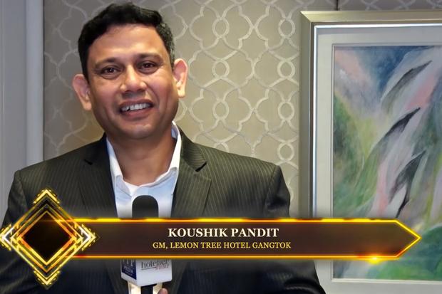 Hotelier India catches up with Koushik Pandit, GM, Lemon Tree Hotel Gangtok