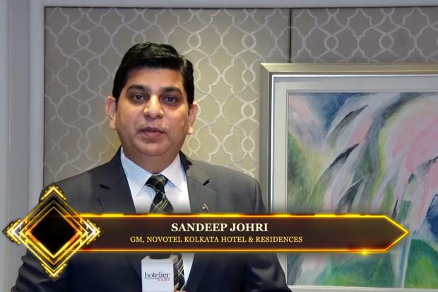 Hotelier India catches up with Sandeep Johri, GM, Novotel Kolkata Hotel & Residences