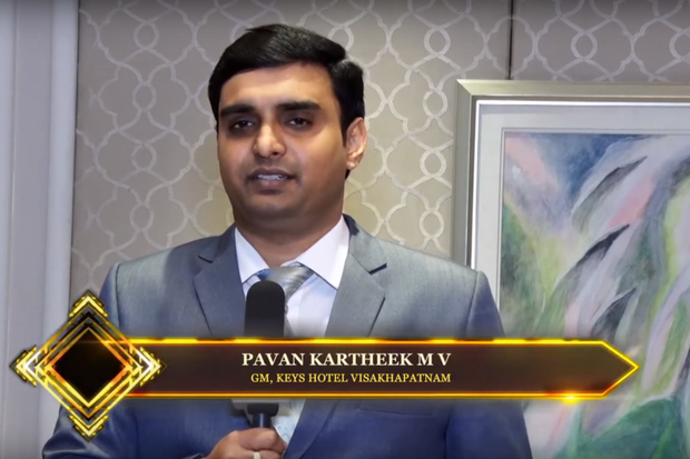 Hotelier India Awards Behind the Scenes with GM Pavan Kartheek