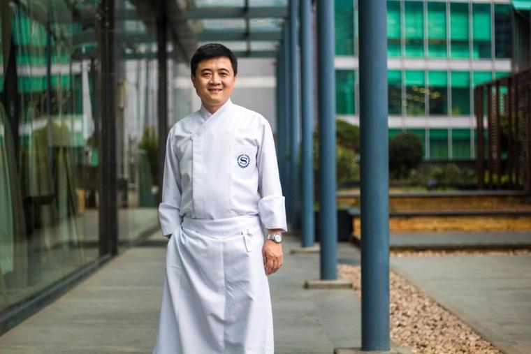 Anthony Huang is Executive Chef at Sheraton Grand Bangalore Hotel at Brigade Gateway