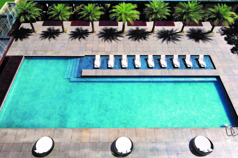 The elixir of hotels: Swimming pools for the future