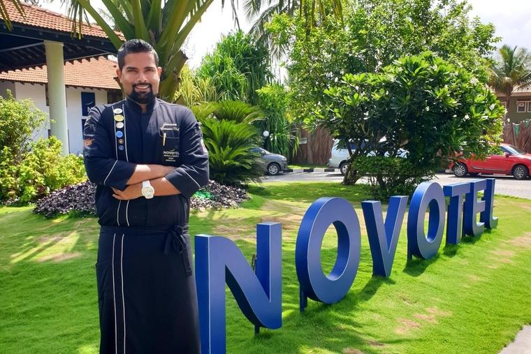Jerson Fernandes joins as executive chef at Novotel Goa Dona Sylvia Resort