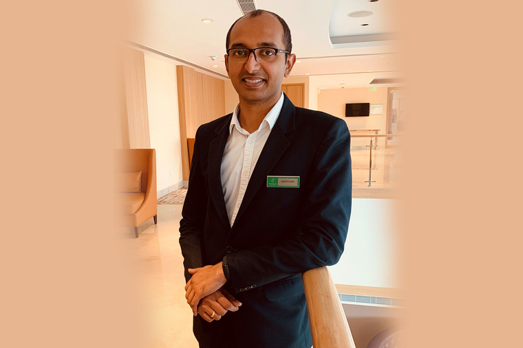 Keerthan Shetty appointed as Executive Housekeeper at Holiday Inn Chennai OMR IT Expressway
