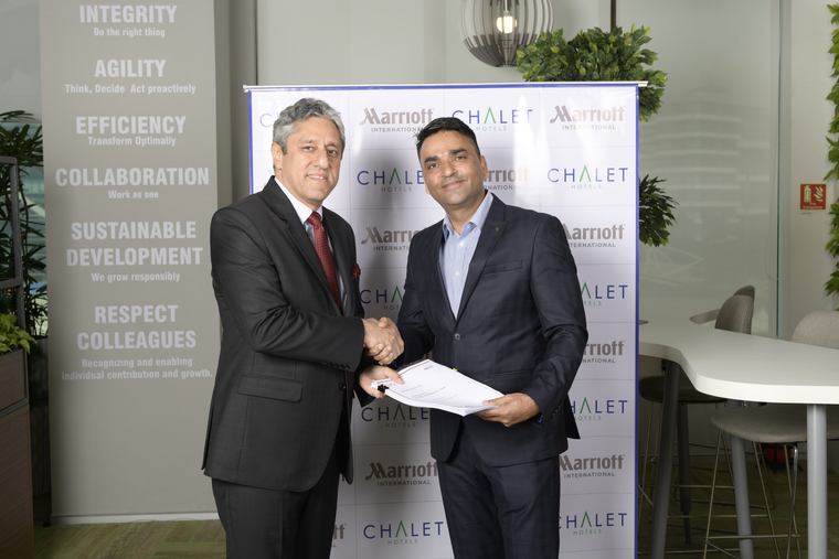 Chalet Hotels Ltd and Marriott Intl scale up partnership with 5 new contracts
