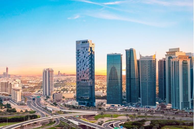 Taj Jumeirah Lakes Towers, Dubai named as 'Favourite New Hotel' in the MENA region