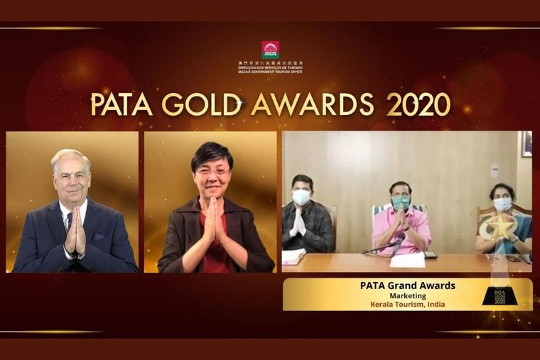 Kerala Tourism bags prestigious PATA Grand Award