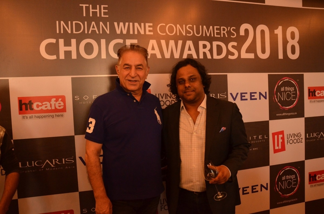All Things Nice, Indian Wine Consumer's Choice Awards, IWCCA, Nikhil Agarwal, Sofitel Mumbai BKC, Wineries, News, Press Releases