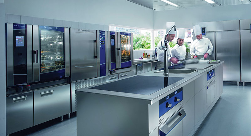 Top suppliers, Electrolux, Modular cooking, Kitchen equipments, Electrolux Professional