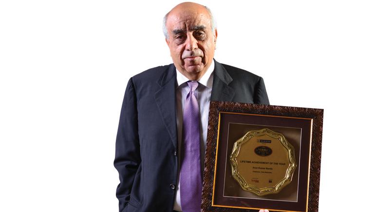 Lifetime achievement, Hotelier awards 2018, Hotelier India, Chairman, Hotelier, Club mahindra, Mahindra Group