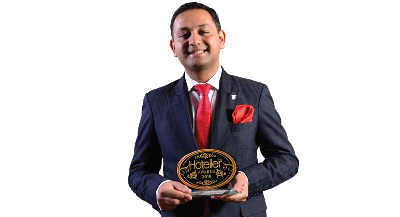 Awards, Hotelier awards 2018, Front office, Front office manager, JW Marriott New Delhi Aerocity