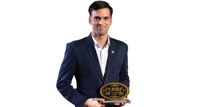 Awards, Hotelier awards 2018, Front office, Front office manager, Ginger Noida, Ginger Noida East