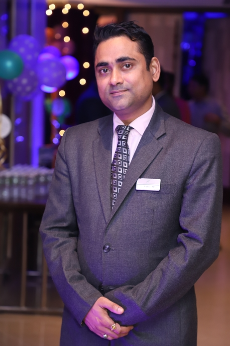 Amit Mathuri, Operations Manager, The Fern Kesarval Hotel & Spa, Verna Plateau-Goa