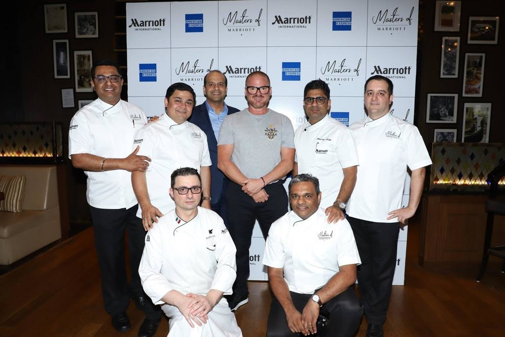 Chef Heston Blumenthal, Culinary experience, Gastronomy experience, India, JW Marriott Mumbai, JW Marriott New Delhi Aerocity, Marriott International, Masters of Marriott, Neeraj Govil, Scientific cooking