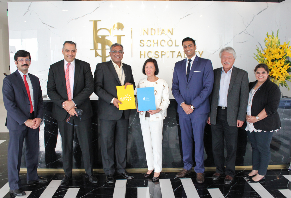 Indian School of Hospitality (ISH), Signs agreement, At-Sunrice GlobalChef Academy, Culinary Arts