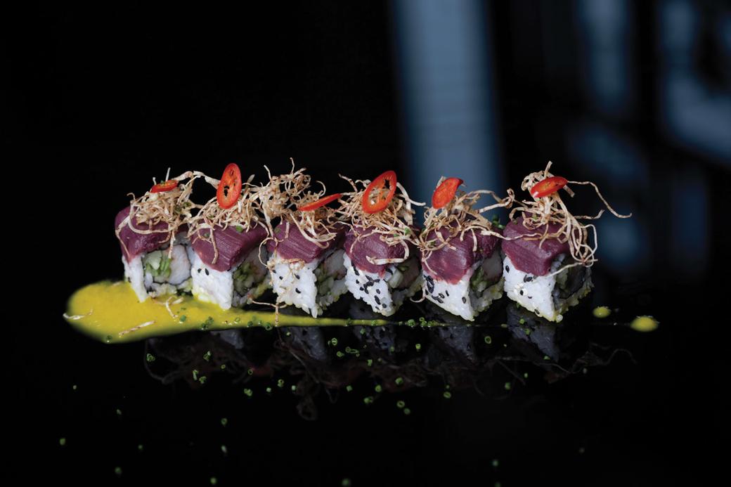 Taro tempura by The St Regis Mumbai